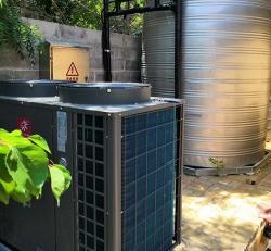 钻石湾5吨热水工程